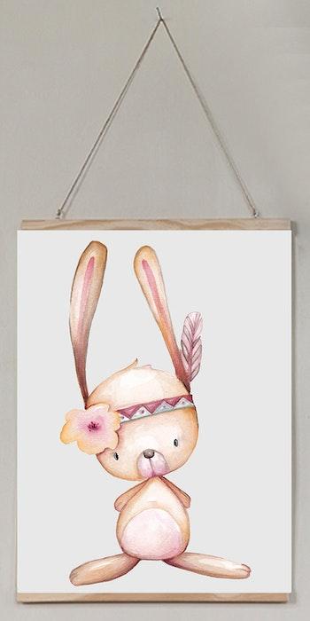 Barntavla Söta kaninen