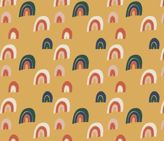Rainbow Gold Mössa