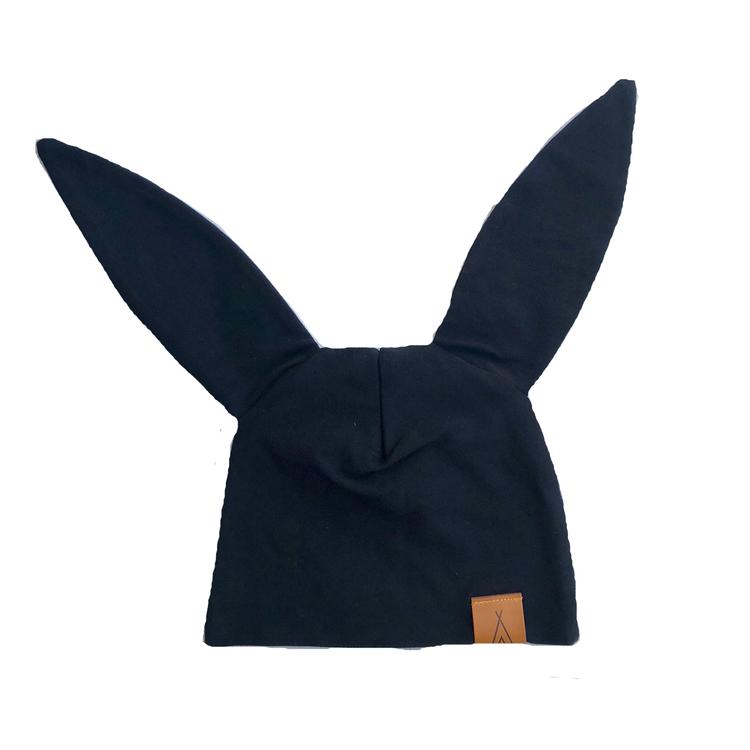 """Mössa """"Little bunny"""" svart"""
