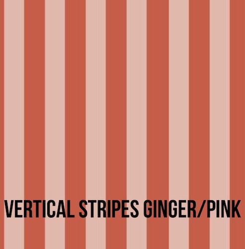 Vertical ginger/pink babyset