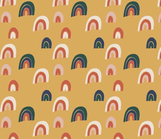 Rainbow Leggings gold