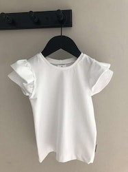 Wing tee soft white