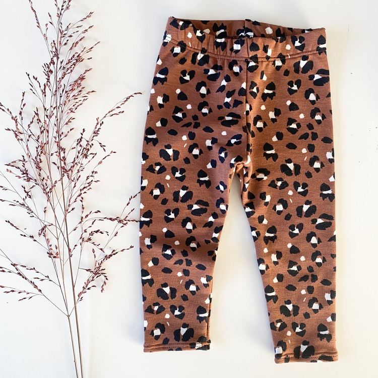 Lynx dots rusty leggings college