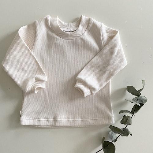 Ribb sweater creme