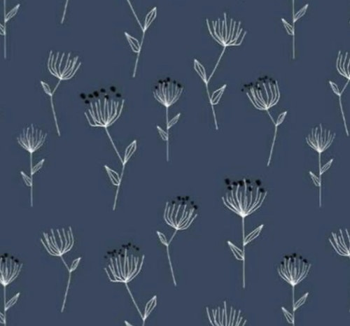 Florette blue rosett mössa
