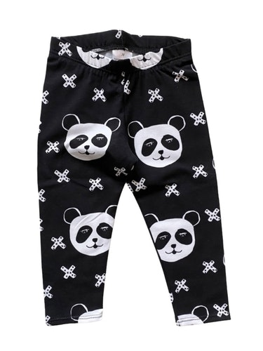Panda black leggings