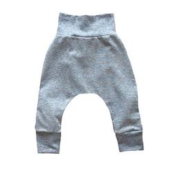 Baggy leggings ljusgrå