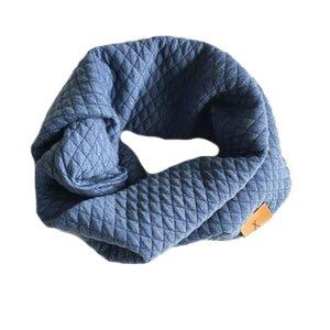 Quilt tubsjal blå