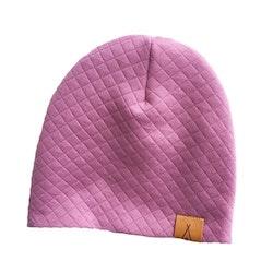 Old pink Quilt Mössa