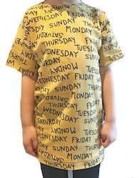 --OVERSIZE TEE SHIRT DRESS -- VALFRITT TYG