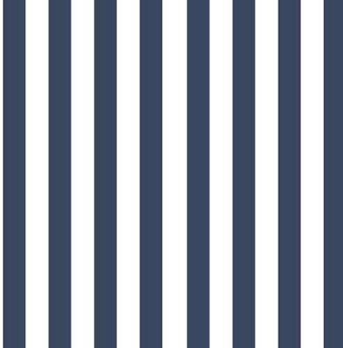 Vertical stripes Baggy shorts mörkblå