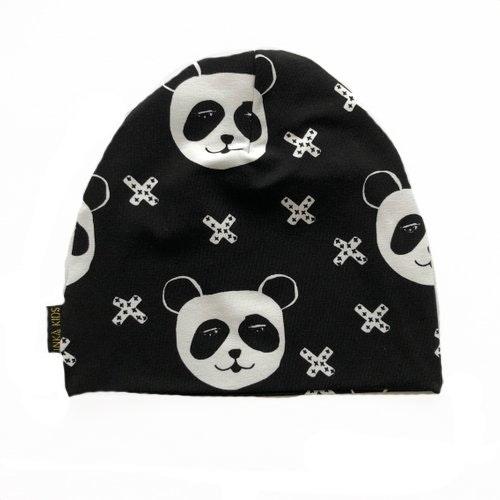 Panda black mössa