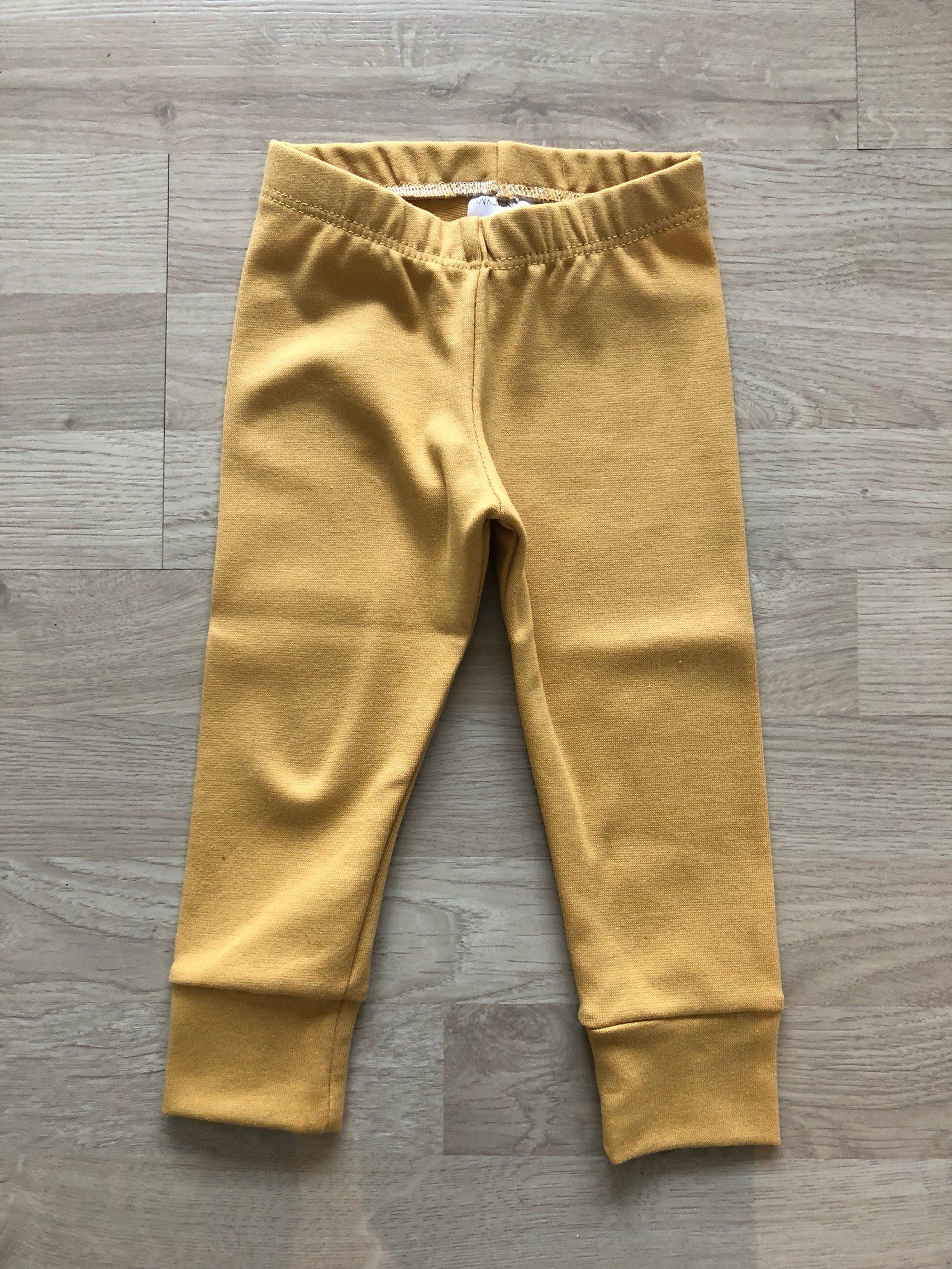 RIBB gold  leggings