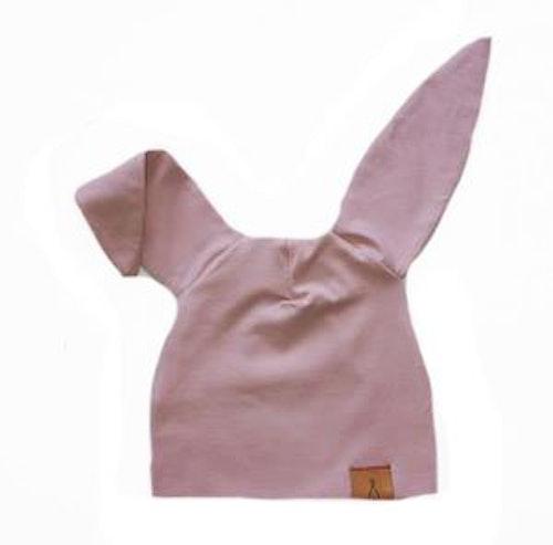 "Mössa ""Little bunny"" soft pink"