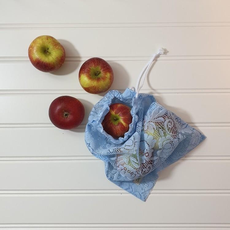 Fruktpåse i tyg