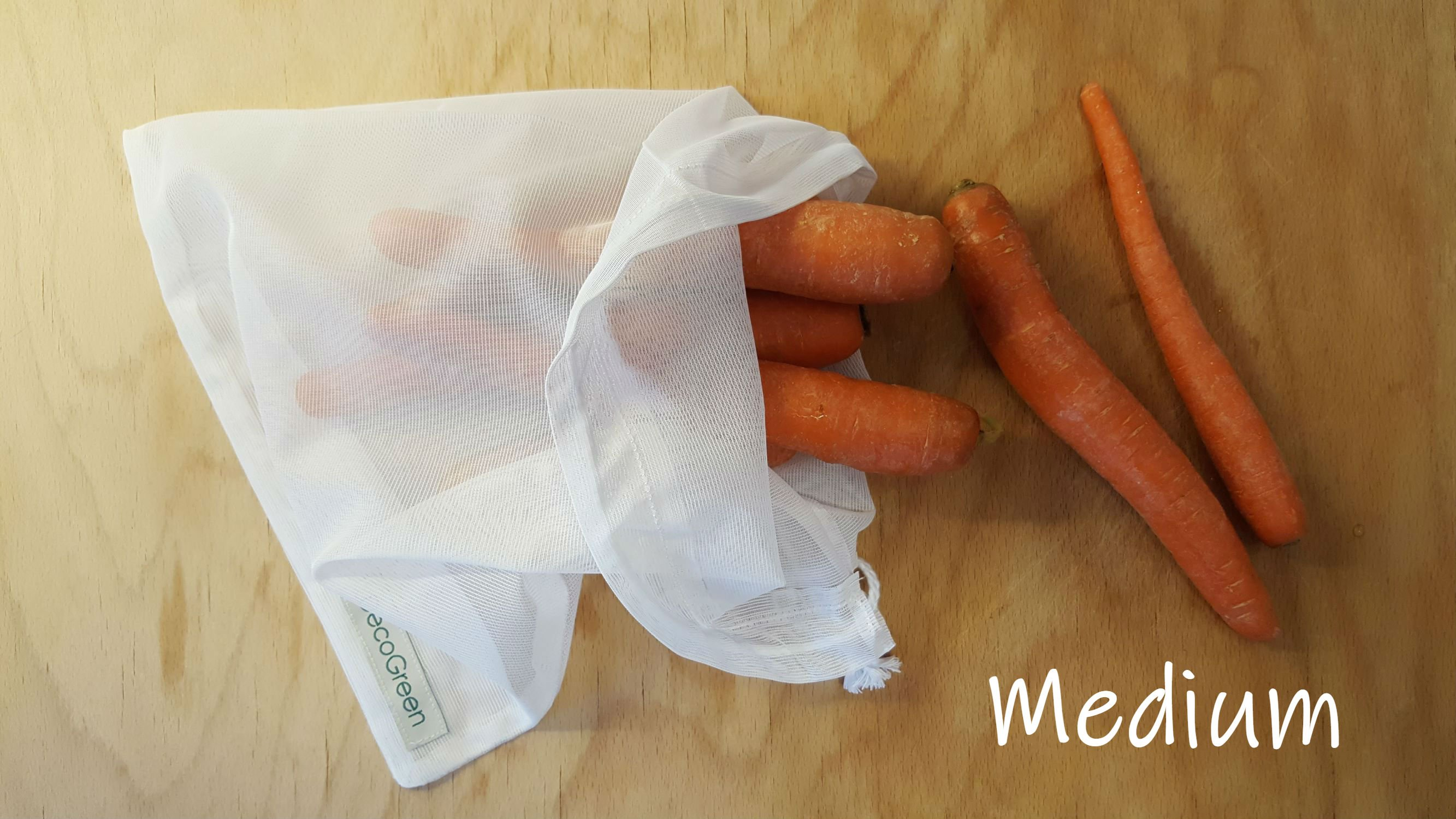 Frukt- och grönsakspåsar istället för plastpåsar