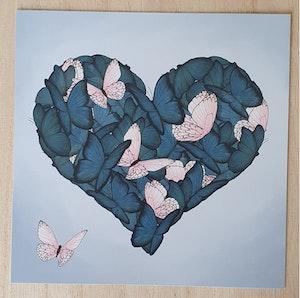 Fjärilshjärta