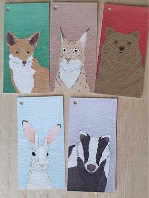 5 pack små kort