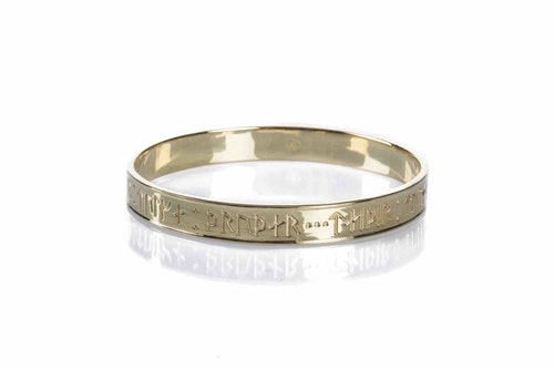 Goddess Thrud Gold Bangle