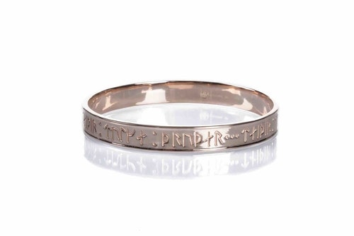 Goddess Thrud Rose Gold Bangle