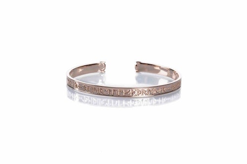 Goddess Thrud Rose Gold Bracelet