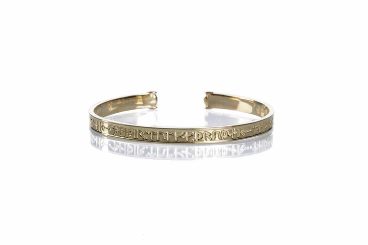 Gudinnan Truds guldarmband