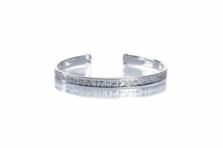 Soldiser Goddess Thrud Viking Silver Bracelet