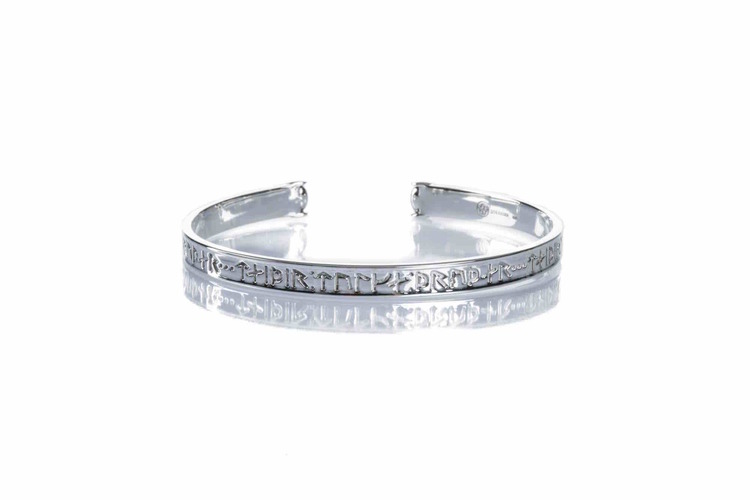 Gudinnan Truds silverarmband