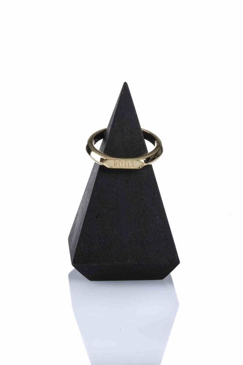Soldiser Goddess Thrud Viking Gold Ring