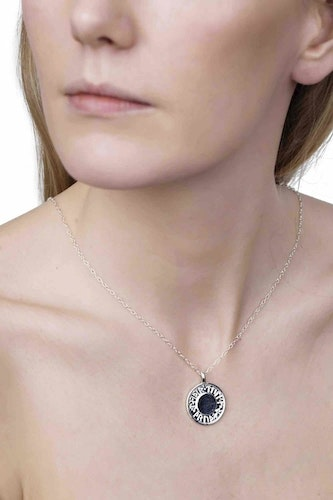 Goddess Thrud Silver Necklace