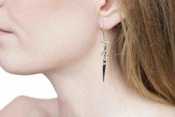Goddess Freya Silver Earrings