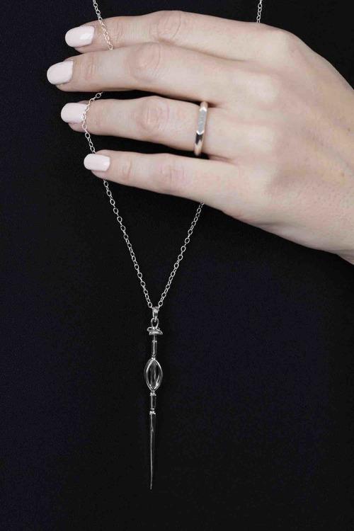 Soldiser Freya Viking Silver Necklace