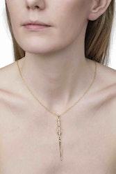 Goddess Freya Gold Necklace