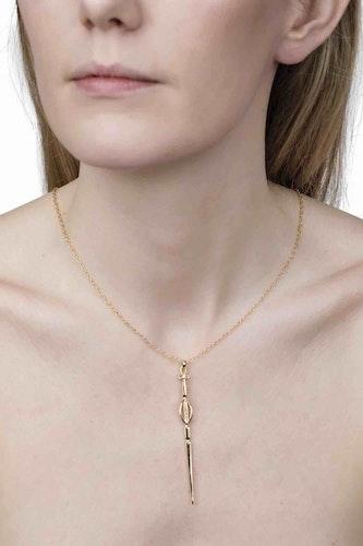 Gudinnan Frejas guldhalsband