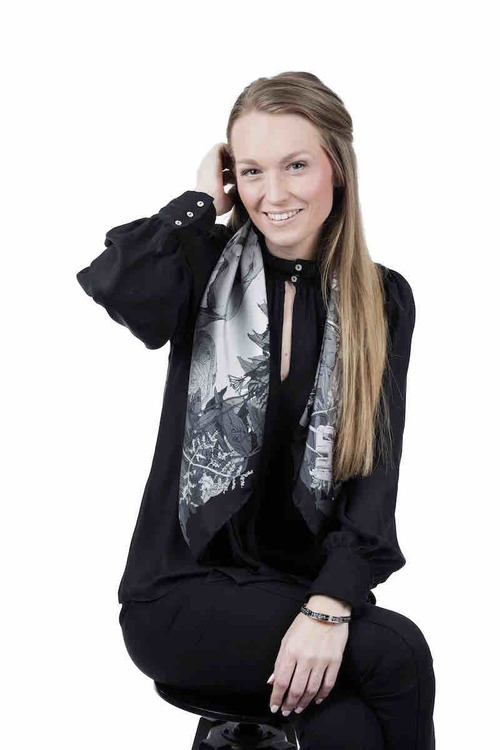Soldiser Goddess Frigg Black Scarf on founder