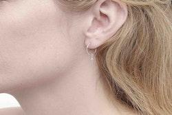 Goddess Freya Mini Silver Earrings