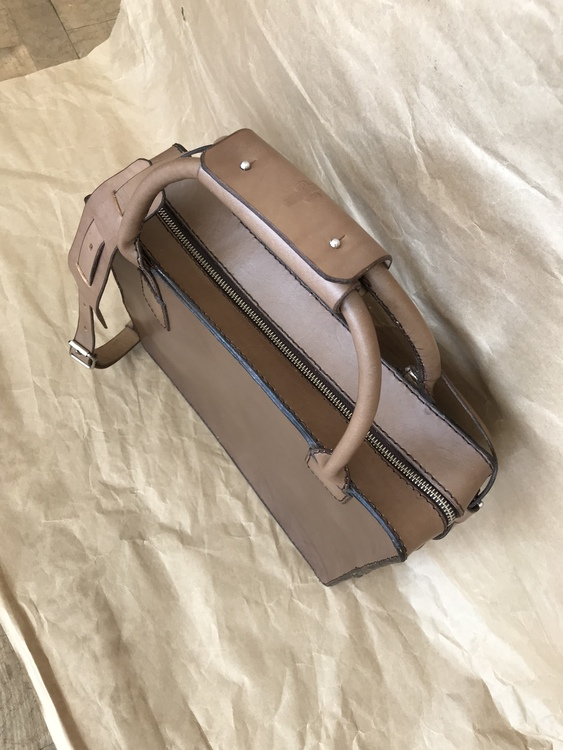 Travelerbag Slim Chocolate