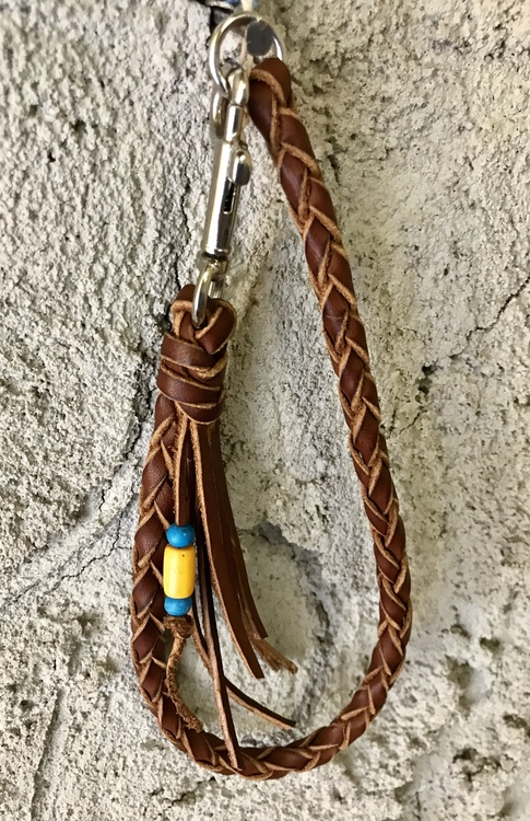 • Braided Key Lanyard • 5 Colors •