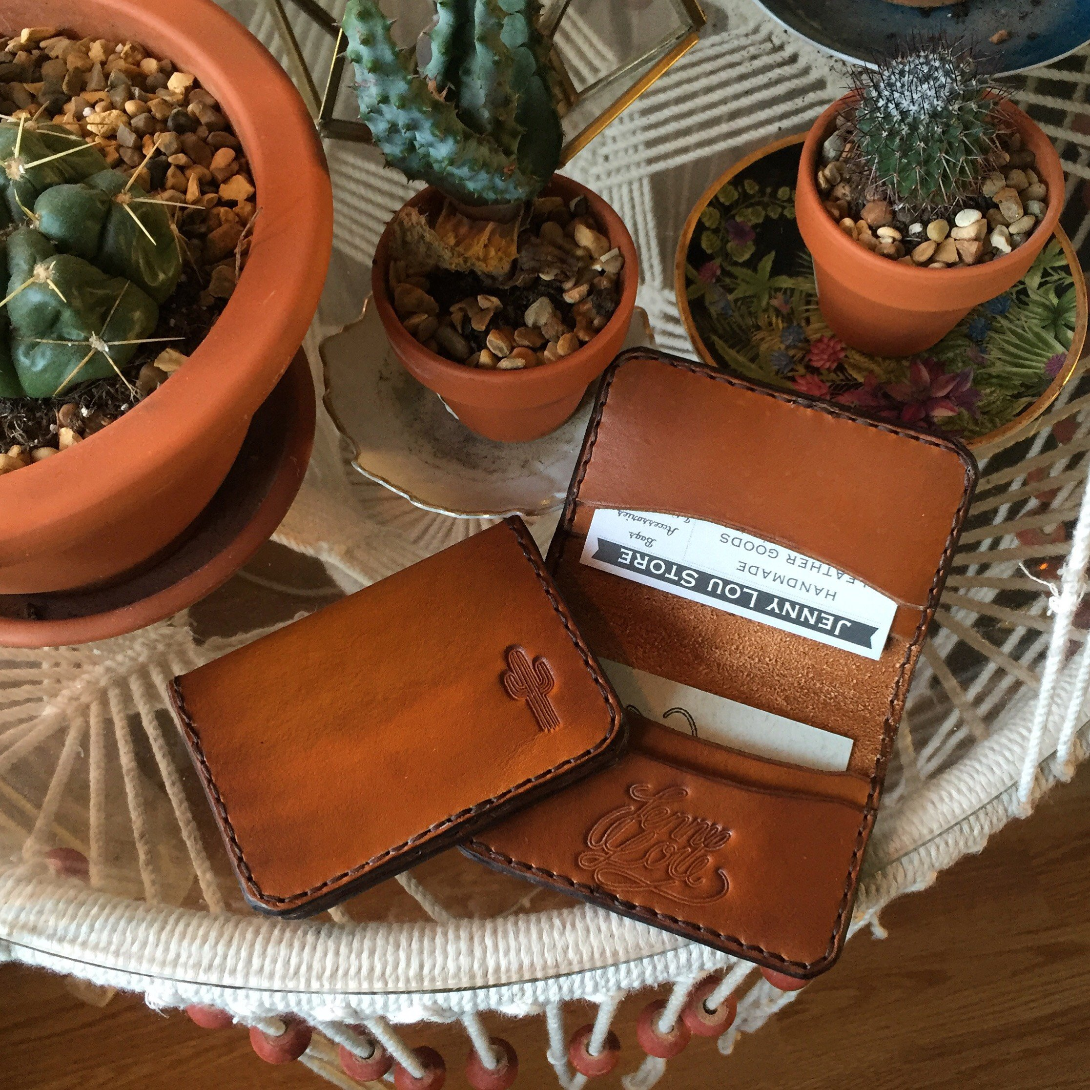 • Card Wallet Cacti • 5 Colors •