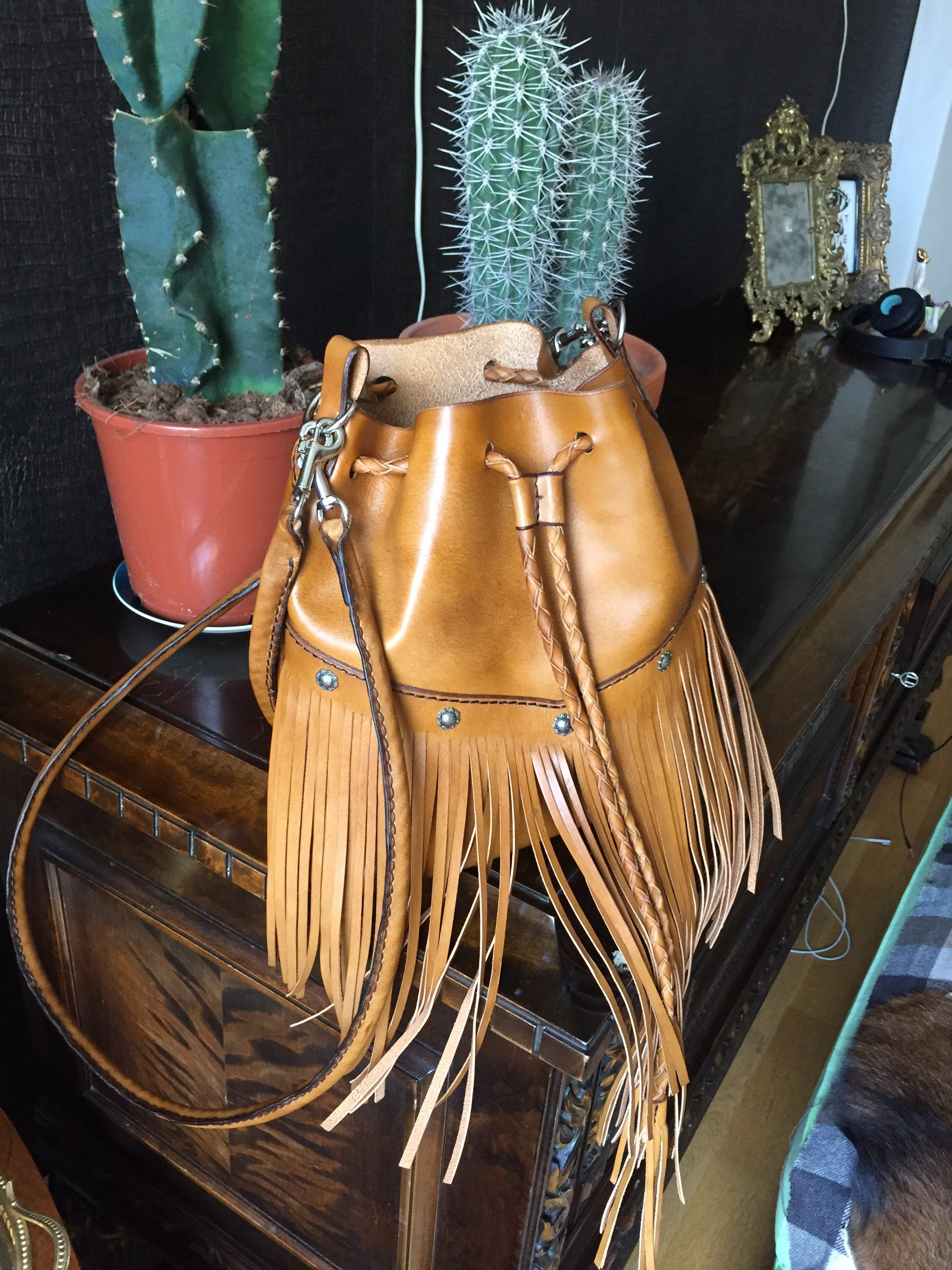 • Bucket Bag Fringes • 5 Colors •