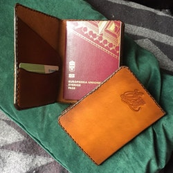 • Passport Case 5 Colors •