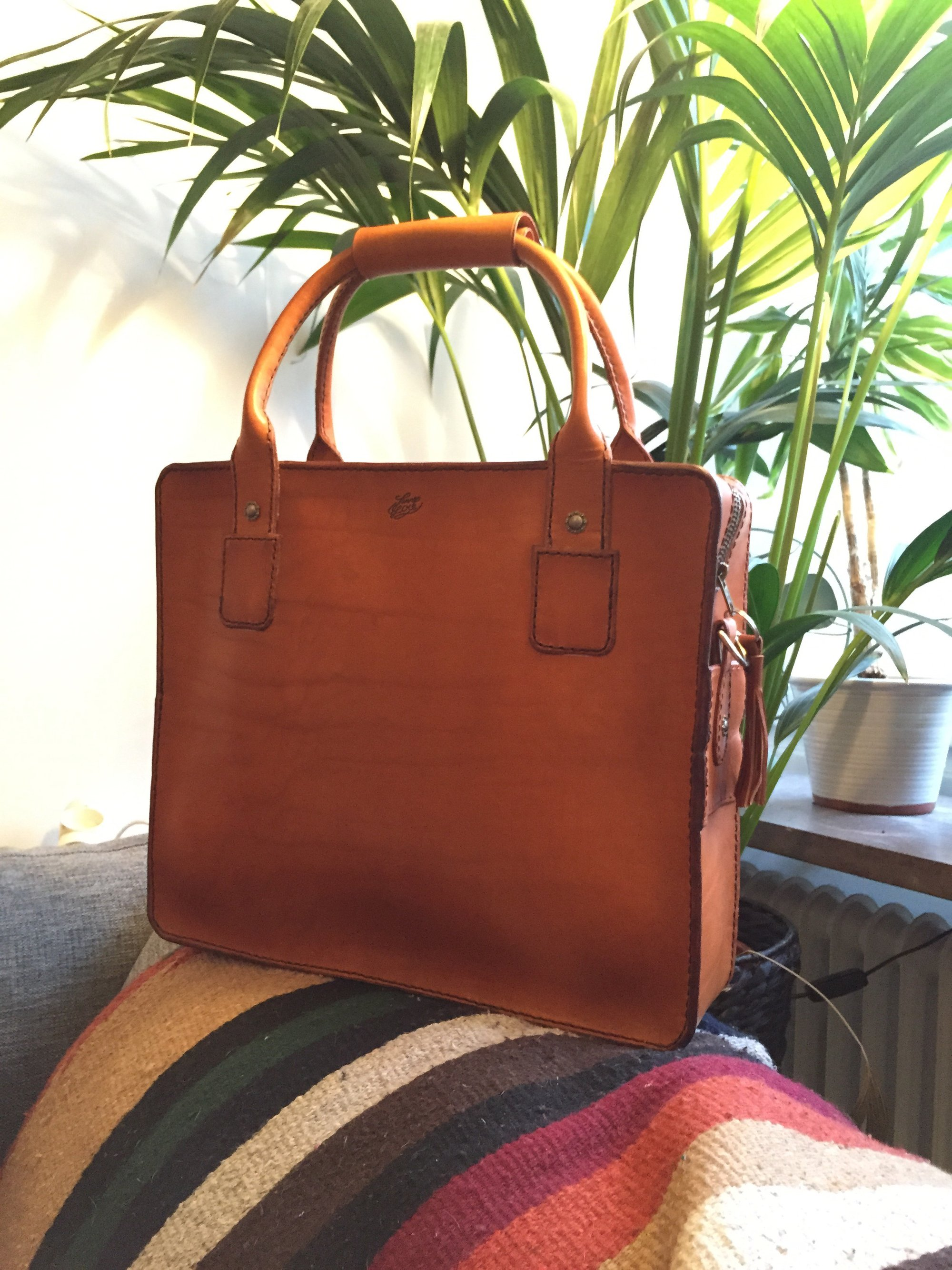 Travelerbag Slim Spanish Brown