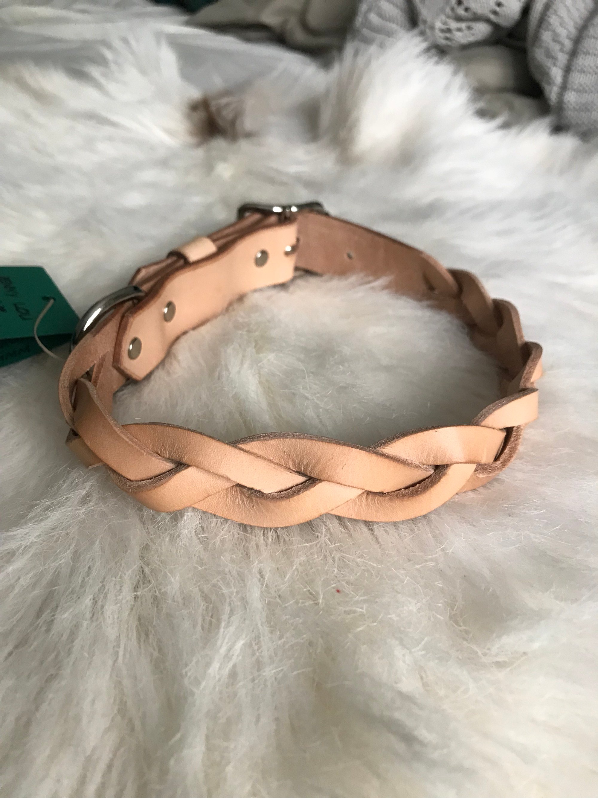 • Dog Collar Braided • 5 Colors •