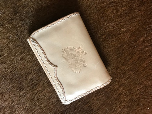• Wallet Bill Box Western 5 Colors •
