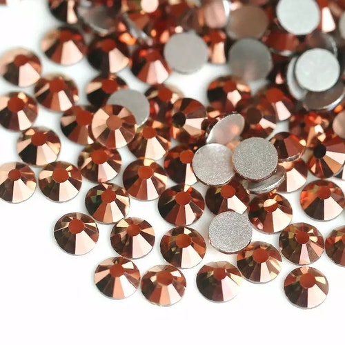 Kristall Rose Guld Metall (2,8 mm - 4,8 mm)
