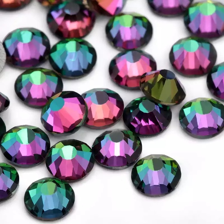 Crystal Green Volcano (4.8 mm)