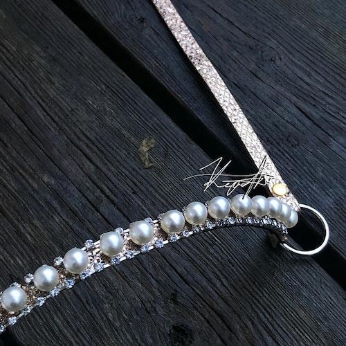 Pearl Crown Showhalter (Vuxen) Roseguld