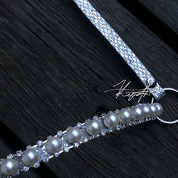 Pearl Crown Showhalter (Vuxen) Silver