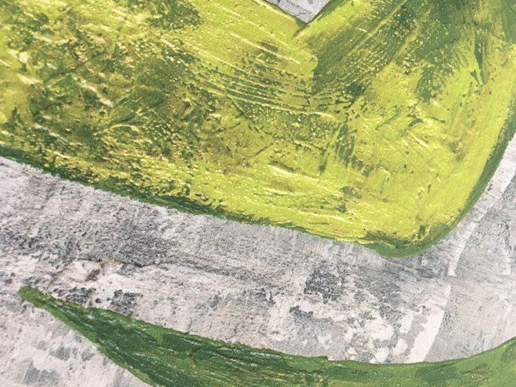 Hjärttavla i stl 50x70 cm. Tavlor med massa färger. Hjärttavlor av C.Brüggmann att inreda ditt hem med.
