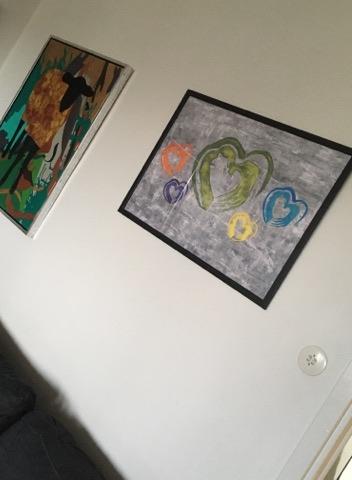 Rama in din poster i vit ram, svart ram eller varför inte i en orange ram. Läckert på din vägg. Sovrumskonst.